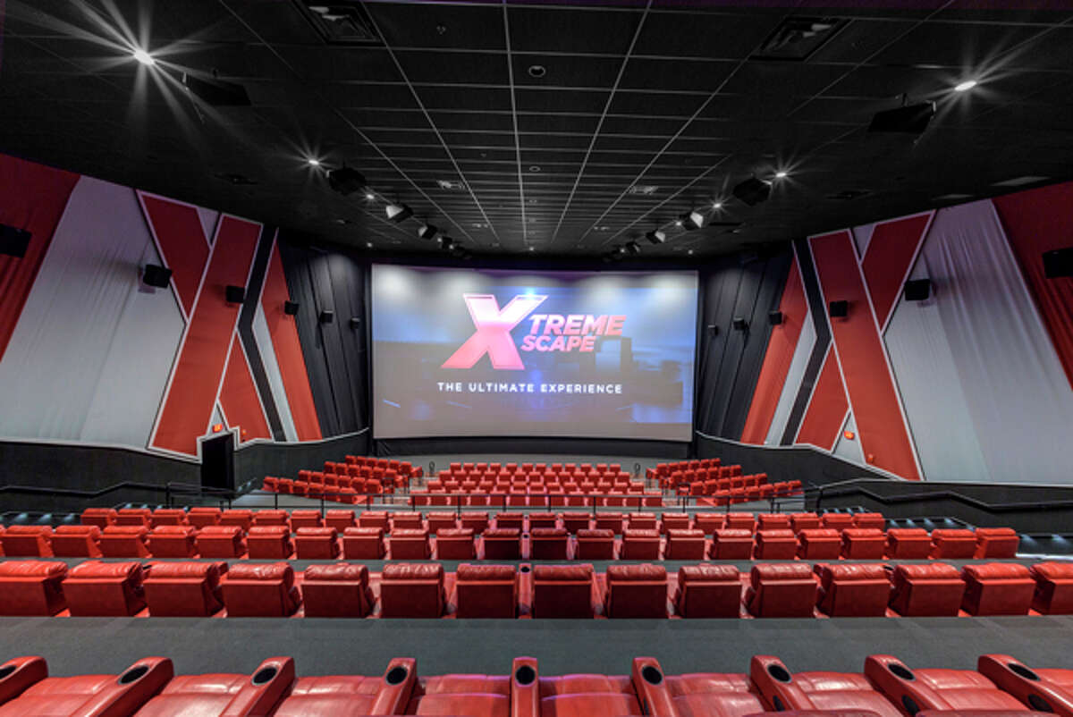 Interior of an Xscape Theaters location.