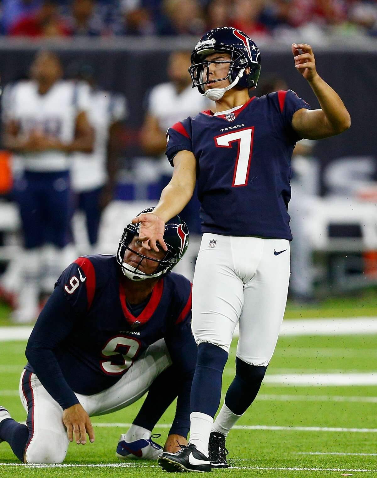 PREDICTION Texans 20, Jaguars 16 Defenses that finished first (Texans) and sixth last season (Jaguars) keep this from being a high-scoring game. Two Ka'imi Fairbairn field goals should be the difference.
