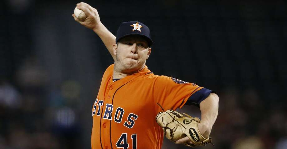 PHOTOS: Astros game-by-gameBrad Peacock has been the biggest revelation on the Astros' pitching staff this season.Browse through the photos to see how the Astros have fared in each game this season. Photo: Ross D. Franklin/Associated Press