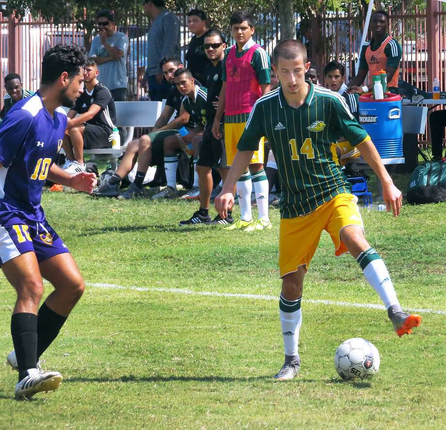 Laredo Community College's Tedi Lisi and the Palominos earned a 3-2 win at Angelina on Saturday. Photo: Cuate Santos /Laredo Morning Times File / Laredo Morning Times