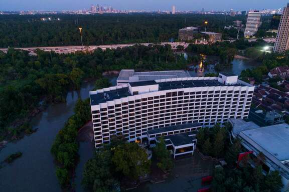 A body was found Friday in the basement of the Omni Hotel after floodwaters from Buffalo Bayou had receded, according to the Harris County Institute of Forensic Sciences.