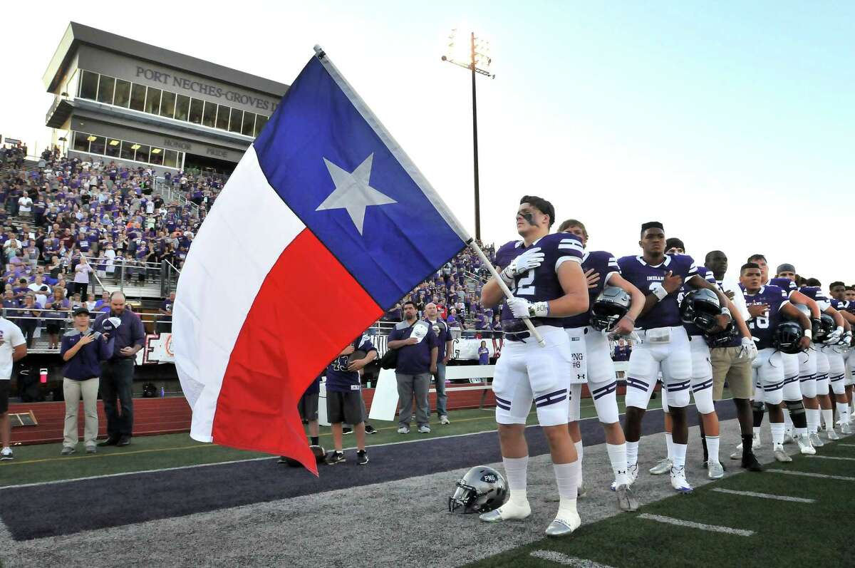 Port Neches-Groves Indians Rank: 3 Record: 4-0 Last Week: 3 (beat Baytown Lee 59-21) Classification: 5A Next: Port Arthur Memorial