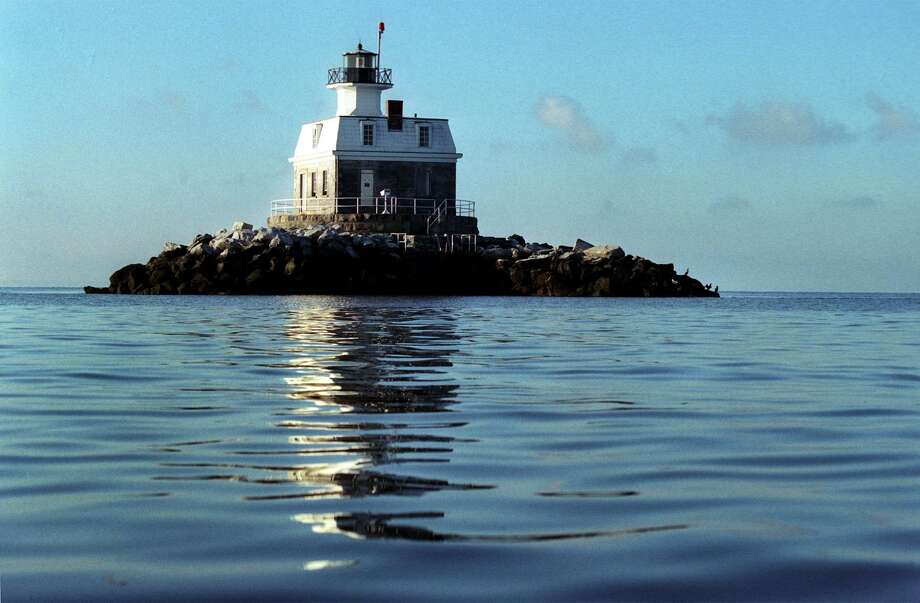 Ned Gerard/Staff photograph 10/1/2004 - Penfield Reef Lighthouse off the coast of Fairfield in Lond Island Sound. Photo: Ned Gerard / Ned Gerard / Connecticut Post
