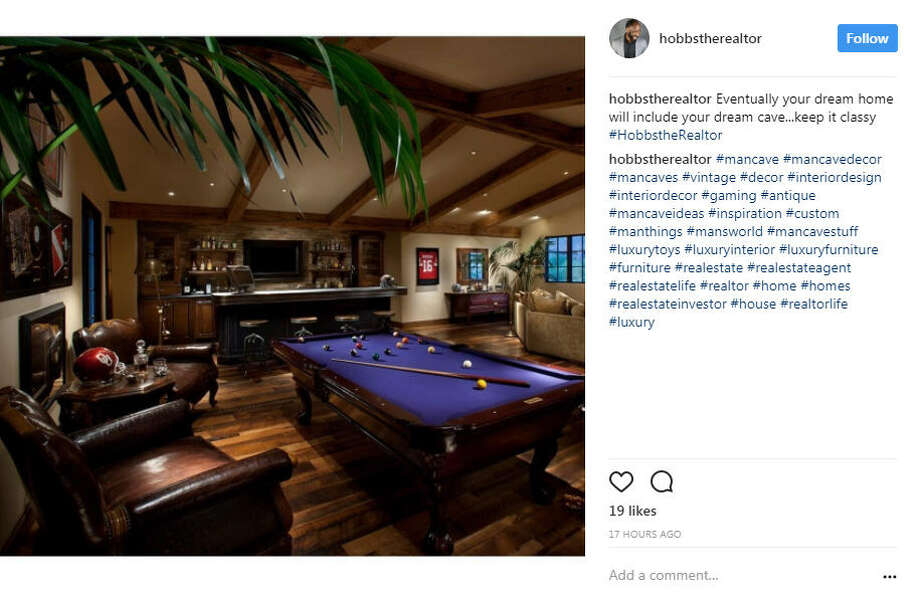 These decked-out man caves are suitable for any football fan.Photo: #mancaves Instagram Photo: Instagram