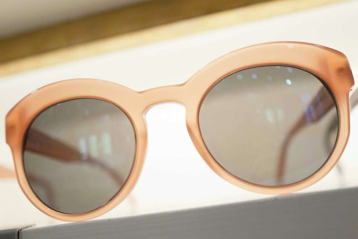 Warby Parker offers a try-before-you-buy option. (AP Photo/Mark Lennihan)