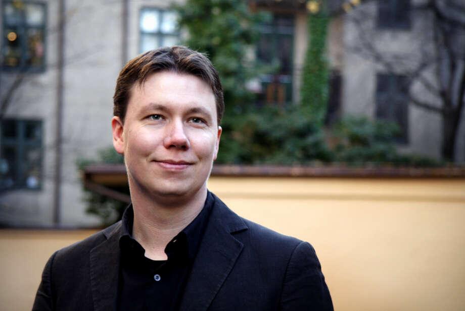 Composer Ola Gjeilo (photo by blunderbuss.no)