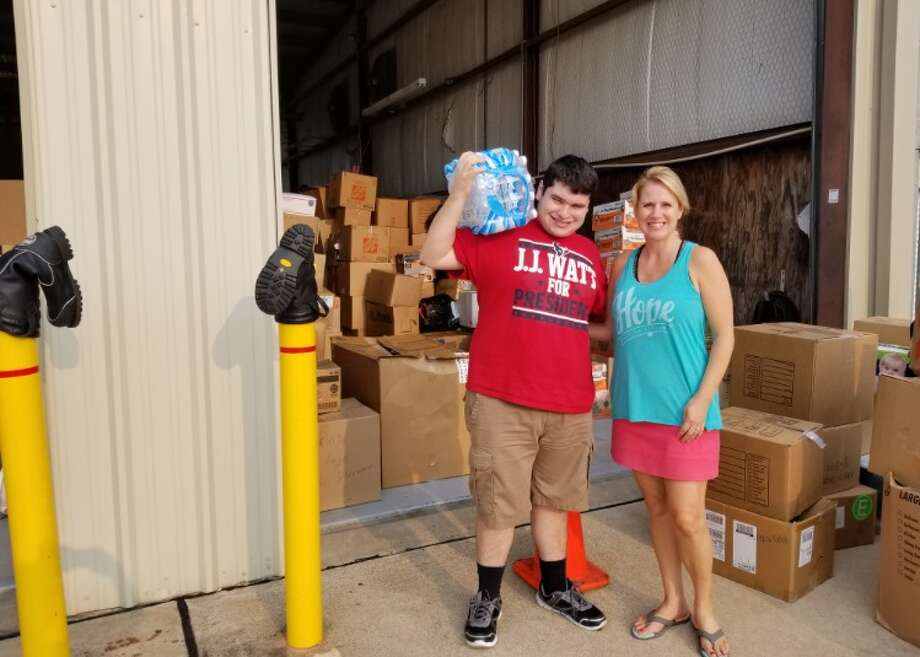 Grant Manier and Lisa Graham-Garza of Autism Rescue Angels are donating supplies and services to Hurricane Harvey relief.