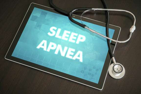 Sleep apnea is a condition in which people repeatedly stop breathing during sleep. (Dreamstime)