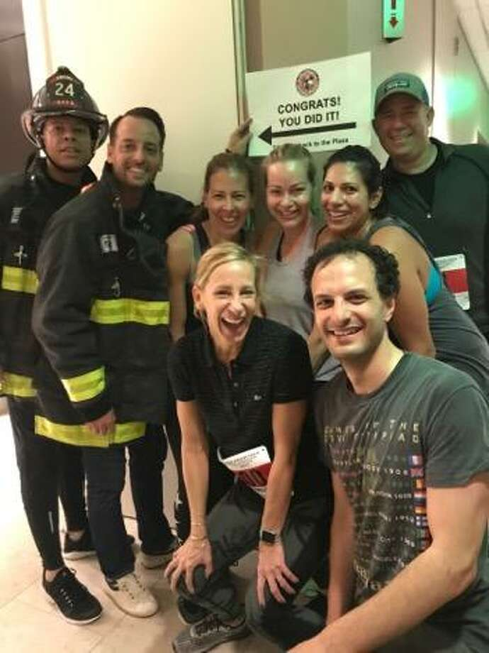 Participants in the San Francisco Stair Climb on Saturday, Sept. 9, 2017.