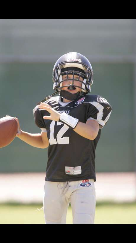 A young UH quarterback Kyle Allen. Photo: Allen Family