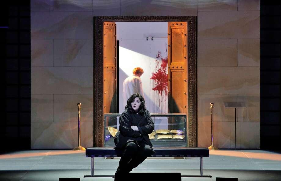 "Christine Goerke in Richard Strauss' ""Elektra"" at SF Opera. Photo: Cory Weaver"