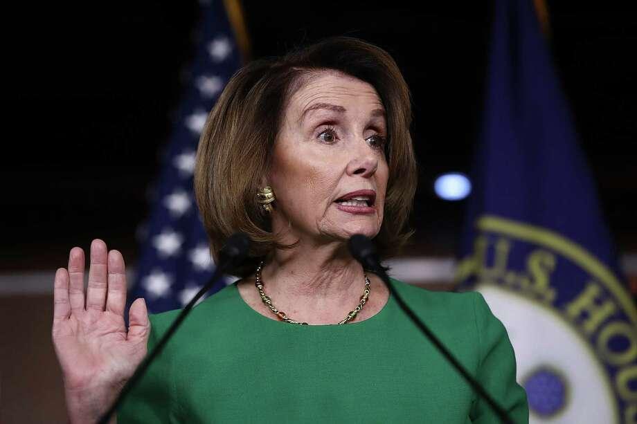 Nancy Pelosi Photo: Win McNamee, Staff / 2017 Getty Images