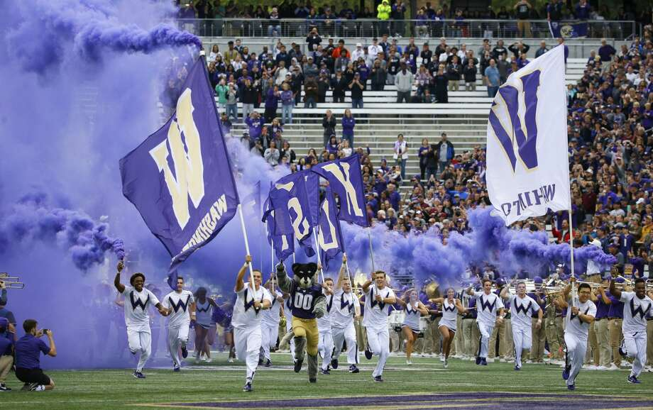 UW will no longer meet the Michigan Wolverines to kick off its '20 campaign, as the Big Ten Conference announced Thursday that if it is able to participate in fall sports, it will shift to conference-only schedules in wake of the novel coronavirus pandemic. The Huskies were scheduled to host Michigan in Seattle Sept. 5. Photo: Ted S. Warren/AP