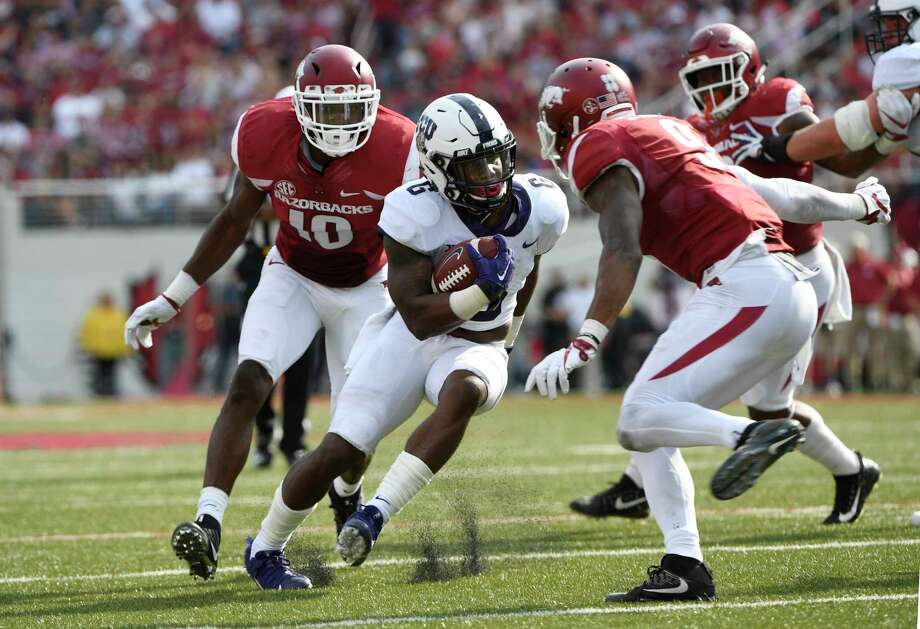 TCU defense brings the bacon to wrap up Hogs