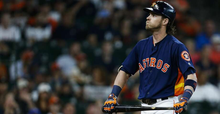 PHOTOS: Astros game-by-gameHouston Astros right fielder Josh Reddick (22) reacts after striking out as the Houston Astros take on the Oakland Athletics in the eighth inning at Minute Maid Park Sunday, Aug. 20, 2017 in Houston. ( Michael Ciaglo / Houston Chronicle )Browse through the photos to see how the Astros have fared in each game this season. Photo: Michael Ciaglo/Houston Chronicle