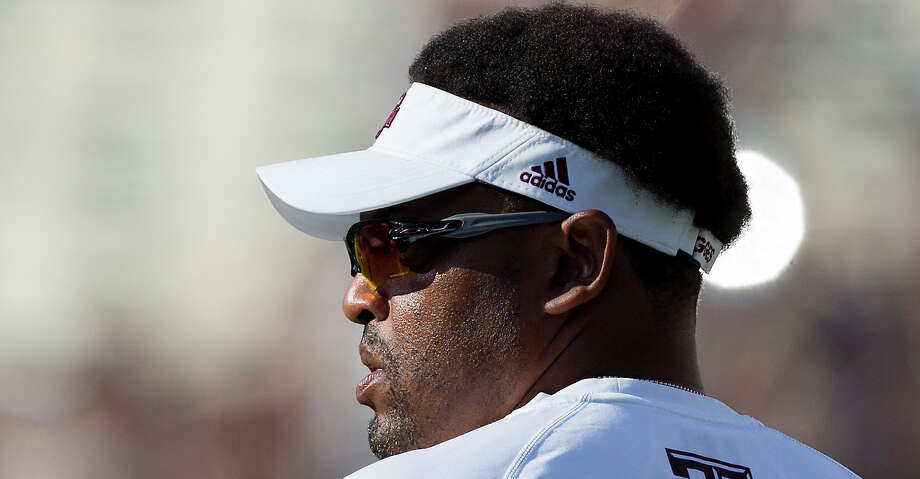 PHOTOS: Texas A&M 24, Nicholls 14Texas A&M head coach Kevin Sumlin enters Kyle Field before an NCAA college football game against Nicholls State, Saturday, Sept. 9, 2017, in College Station, Texas. (AP Photo/Sam Craft)Browse through the photos to see action from the Aggies' win on Saturday. Photo: Sam Craft/Associated Press