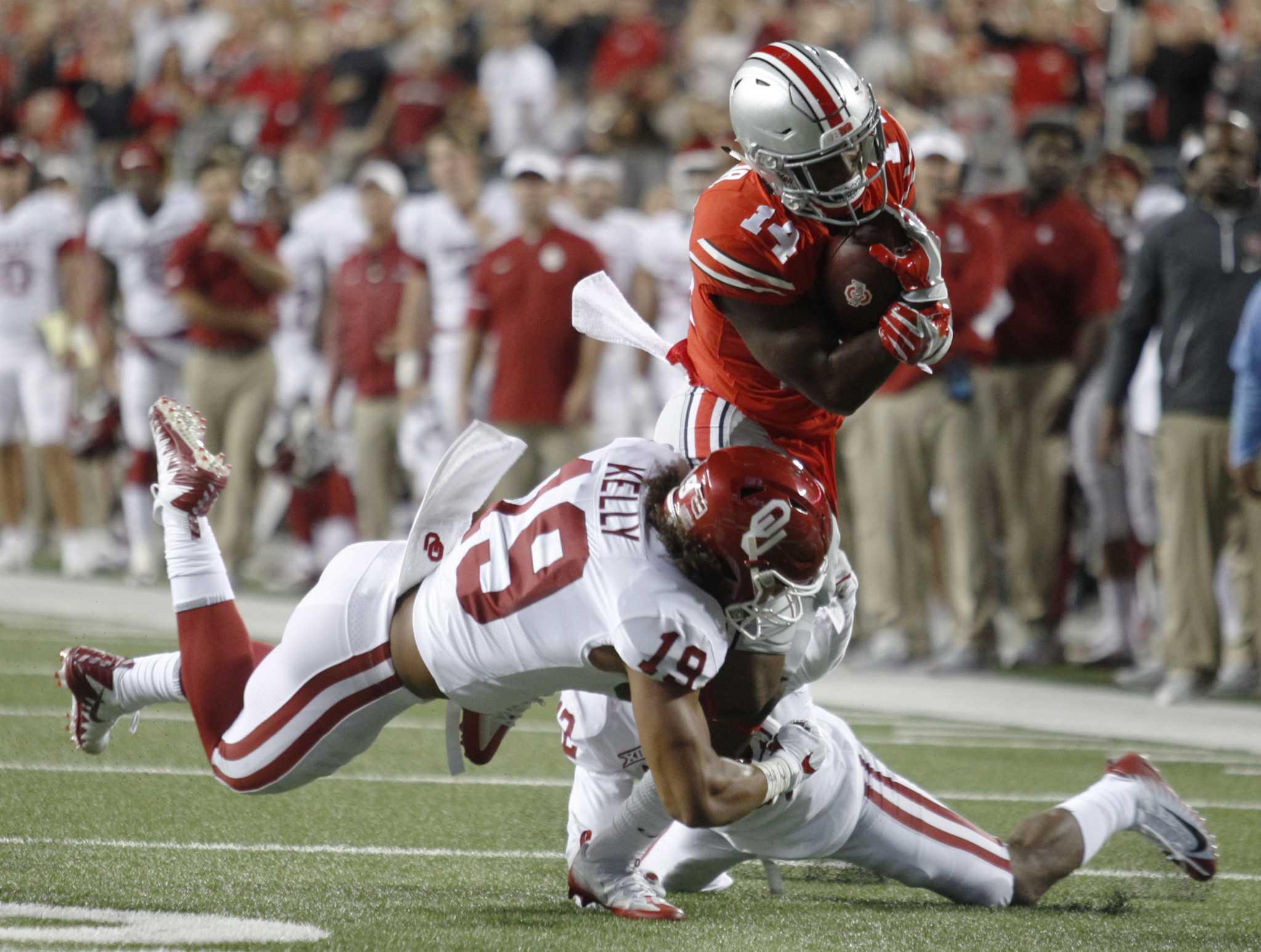 Top 25: Oklahoma tops Ohio State; Clemson 'D' stifles Auburn