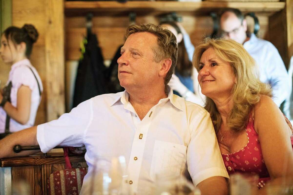 John R. Wilson, an oil and gas industry consultant, died in a crash Thursday at Point Reyes National Seashore. In this family photo he poses with his wife, Christine.