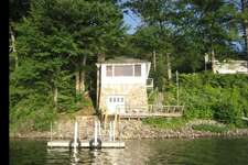 "Schroon Lake, NY . Adirondack Lake Front Guest Cottage . Price: $200. ""Quiet and quaint. This classic Adirondack guest cottage is the perfect getaway. Originally built in 1945 as a boat house. Updated with a kitchen and new bathroom, it is charming and serene. A true ""On Golden Pond"" experience. The moment you enter, you will be struck by the captivating view of Schroon lake surrounded by Pines, Cedar, Maple and Oak trees. A bird lovers sanctuary.""    View full listing on Airbnb  ."