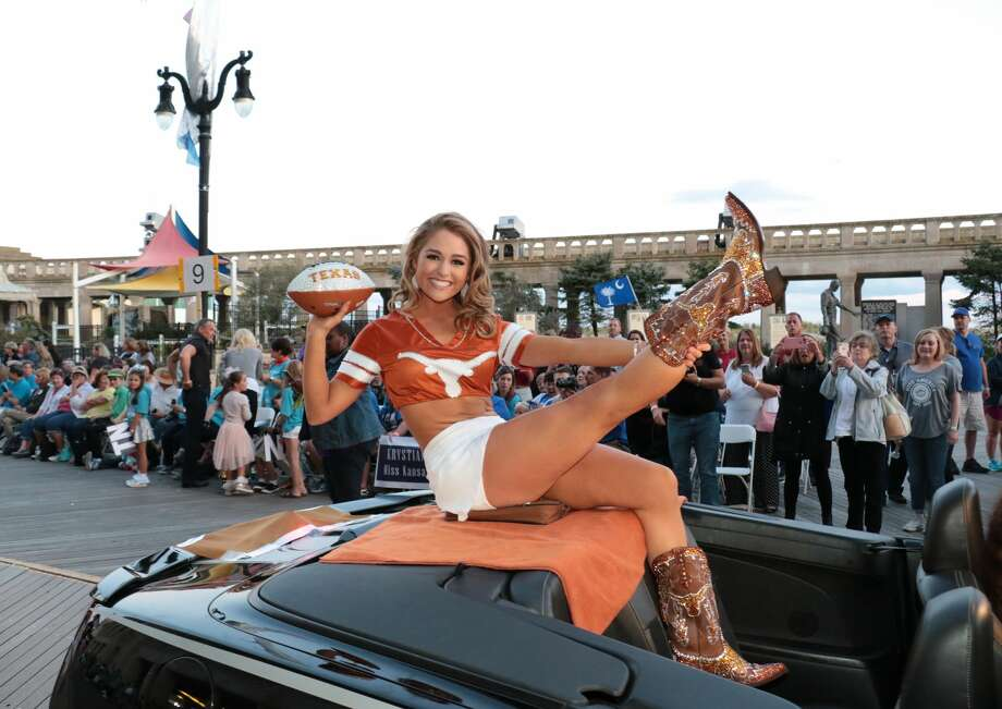 Miss Texas 2017 Margana Wood participates during Miss America 2018 - Show Me Your Shoes Parade on September 9, 2017 in Atlantic City, New Jersey. Photo: Donald Kravitz/Getty Images For Dick Clark Productions