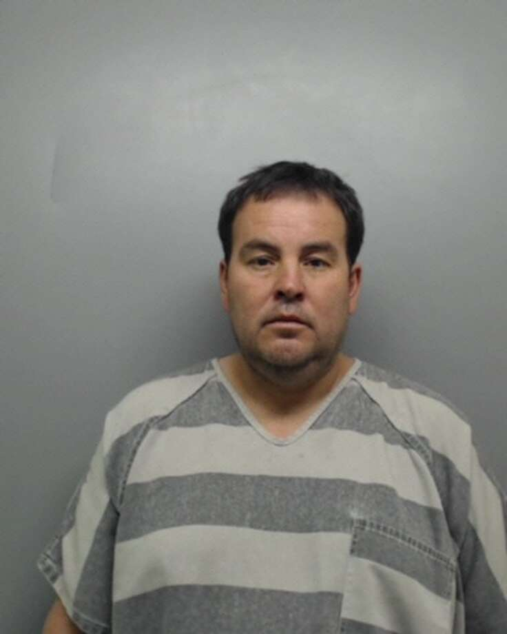 David Gutierrez, 44, was served with warrants Thursday charging him with felony theft and engaging in organized criminal activity. Photo: Webb Country Sheriff's Office/Courtesy