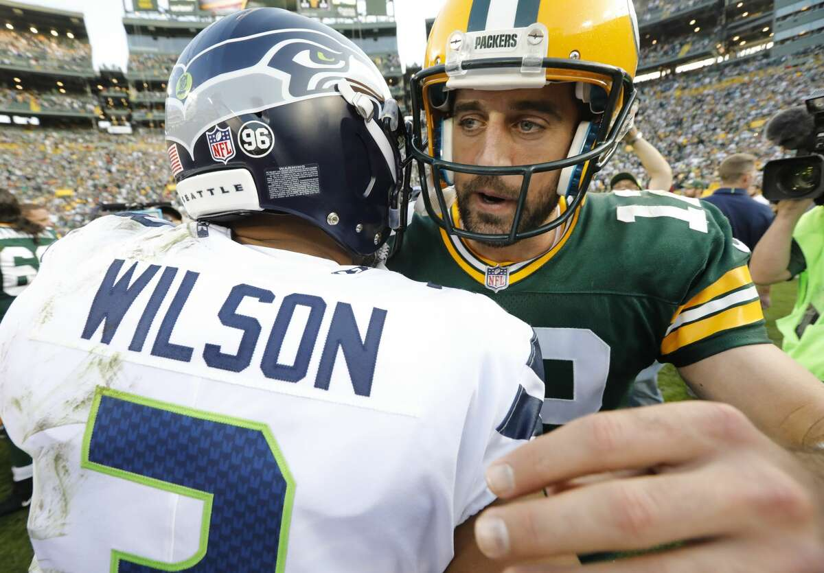 When you think of all the matchups you've had against Aaron Rodgers, what stands out? Wilson: