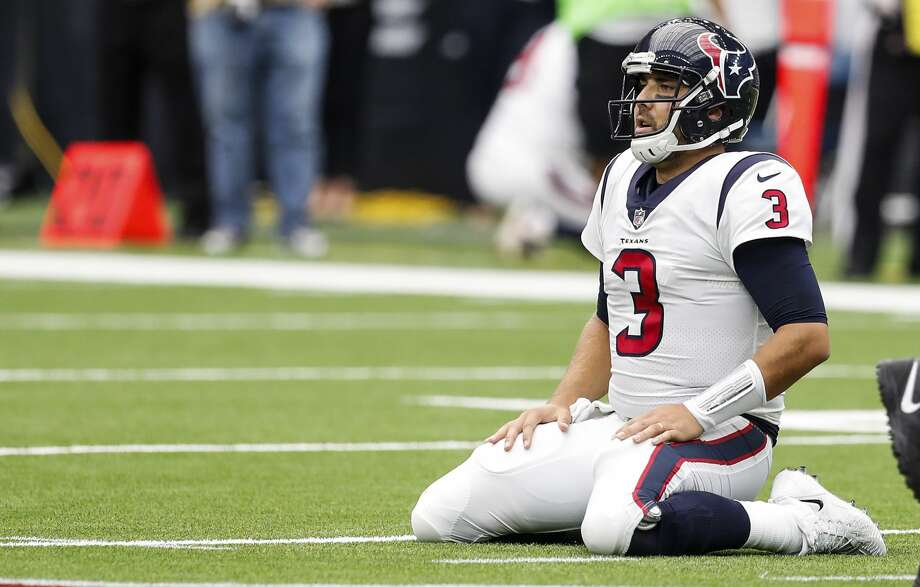 Texans quarterback Tom Savage will resume the starting role Sunday against the Colts after Deshaun Watson suffered a torn ACL during practice on Thursday. Photo: Brett Coomer/Houston Chronicle