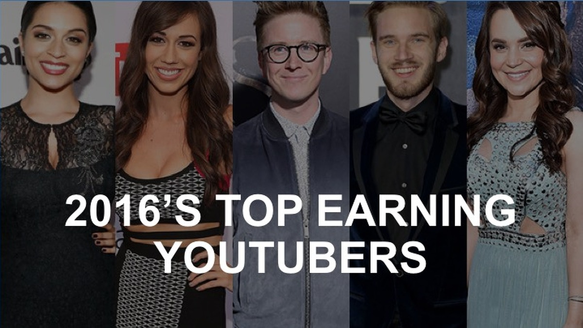 Click through this gallery to see the highest-paid YouTube stars' annual earnings and what their channels are actually about.