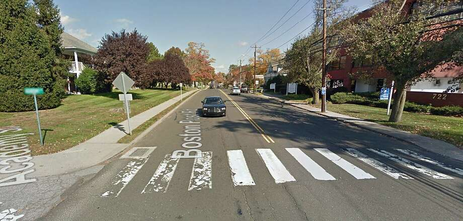 Work on resurfacing a nearly four-mile stretch of Route 1 in Darien will begin Thursday, Sept. 14, 2017. The work that also involves milling the road is expected to be finished on Oct. 13, 2017. Photo: Google Street View Image