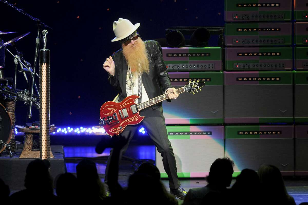 Billy F. Gibbons, ZZ Top singer-guitarist