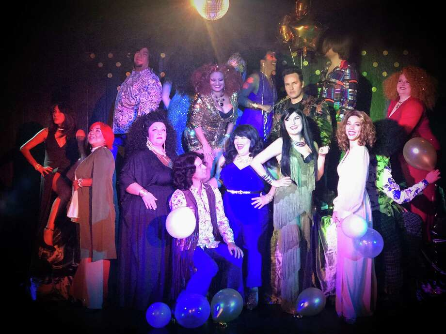 """The Harlequin boogie-oogie-oogies into the disco era with the latest revue created by Shawn Kjos. The show -- titled """"54,"""" a reference to the famed New York hot spot Studio 54 -- includes tunes made famous by Donna Summer, the Village People, ABBA and -- of course -- the Bee Gees.Opens Friday. 8 p.m. Thursdays-Saturdays through Oct. 14, The Harlequin, 2652 Harney Road,  Joint Base San Antonio-Fort Same Houston. $10 to $22. 210-222-9694.Deborah Martin Photo: Courtesy The Harlequin"""