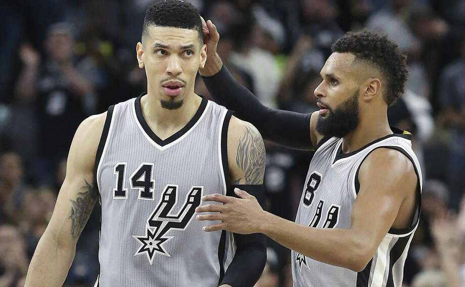 Danny Green (left) and Patty Mills both need to play more consistent. Photo: Tom Reel /San Antonio Express-News / 2017 SAN ANTONIO EXPRESS-NEWS
