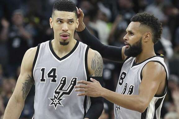 Danny Green (left) and Patty Mills both need to play more consistent.