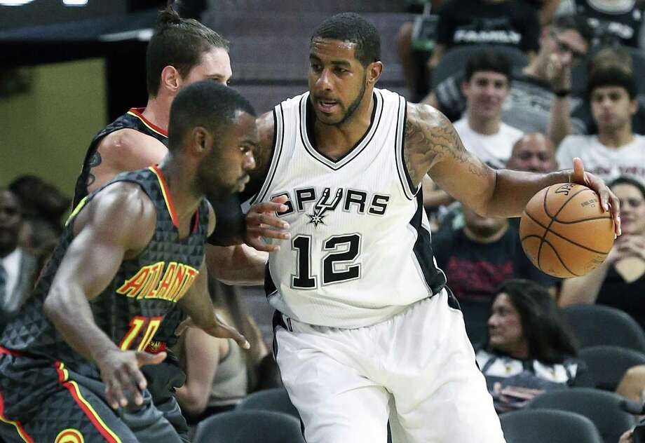 LaMarcus Aldridge and the Spurs just don't move the TV-ratings needle. Photo: Tom Reel /San Antonio Express-News / 2016 SAN ANTONIO EXPRESS-NEWS