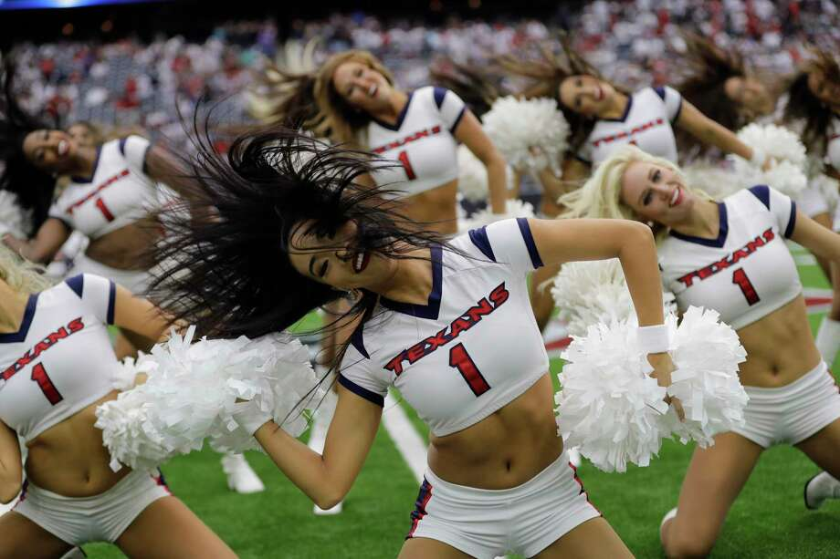 PHOTOS: A look at NFL cheerleaders from Week 1The Houston Texans cheerleaders perform prior to an NFL football game Sunday, Sept. 10, 2017, in Houston. (AP Photo/David J. Phillip)Browse through the photos above for a look at the NFL cheerleaders from Week 1 of the season. Photo: David J. Phillip, Associated Press / Copyright 2017 The Associated Press. All rights reserved.