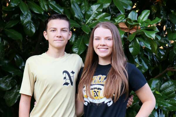 It's tradition at our house to send 1st day of school pics to the Beaumont Enterprise. So on such an emotional day of memories with 9/11 and an emotional time in our nation today with Harvey and Irma, here's a little something that brings a smile to my face.         Brennan Meredith, 9th and Hannah Meredith, 11th at Nederland High School