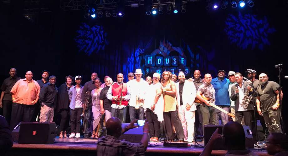 Houston musician Preston Smith organized a concert at the House of Blues that became a Hurricane Harvey benefit show.