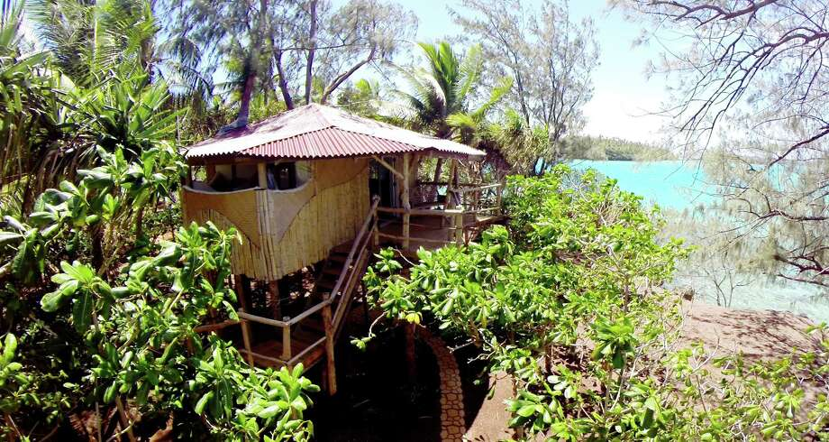 A treehouse accommodation at Tonga's Mandala Island Resort. Photo: Ben Newton, Mandala Island Resort. / Ben Newton, Mandala Island Resort