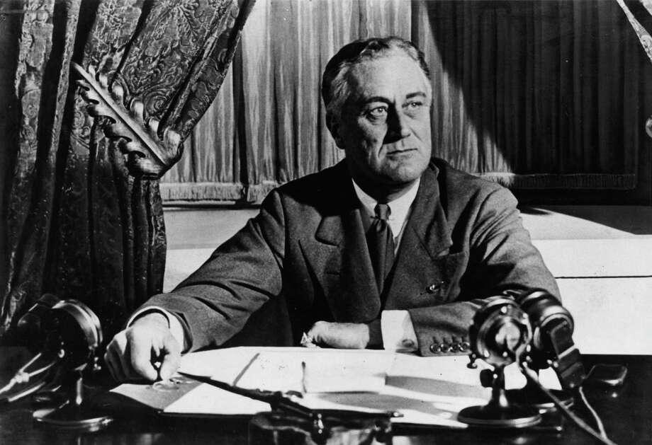 Former President Franklin Delano Roosevelt Photo: File Photo / handout