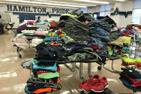 Hamilton Middle School is coordinating donations and will open doors to those in need on Thursday.