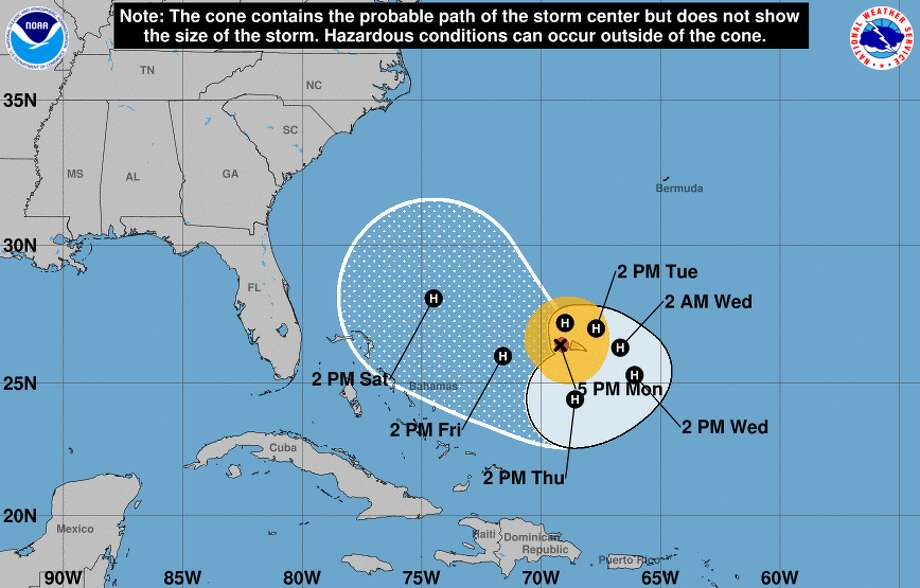 Latest forecast shows Hurricane Jose may edge near U.S. - Times Union