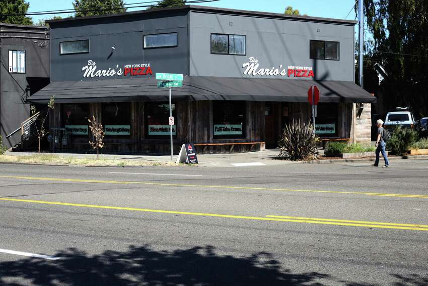 Big Mario's Pizza This pizza chain still has Meinert registered as a governing person, according to The Stranger. But his business partner at Big Mario's told The Stranger that Meinert's share was sold earlier this year and no longer owns any of the company.