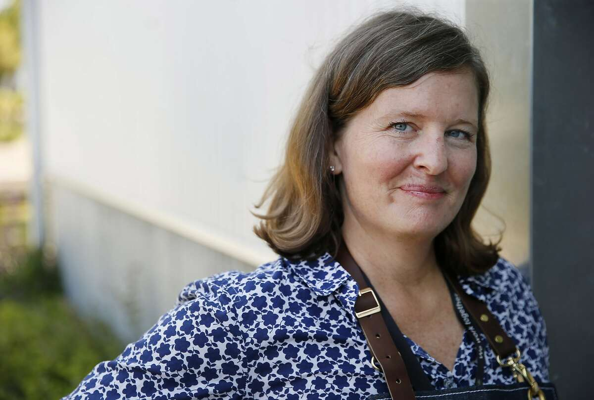 Kendra Kolling owns Sebastopol restaurant the Farmer's Wife, which is part of a class-action lawsuit against Grubhub.