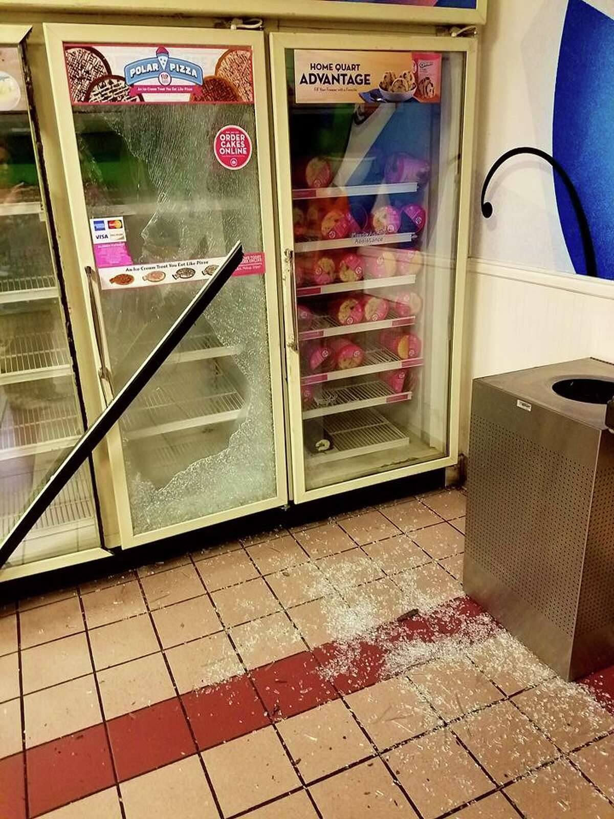 A burglar stole seven ice cream cakes from a Vallejo Baskin Robbins on Wednesday, Sep. 6, 2017, the owner said. He left the cash untouched.