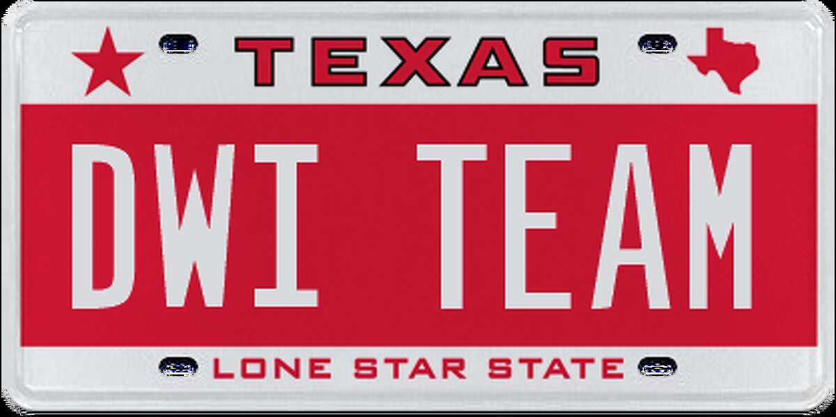 License plates rejected by the Department of Motor Vehicle in April and May, 2017.