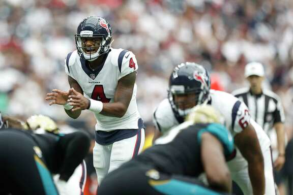 Deshaun Watson is in the running to make his first NFL start on Thursday after making a relief appearance on Sunday.