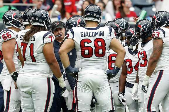 Coach Bill O'Brien is making changes to an offensive line that surrendered 10 sacks in the loss to the Jaguars.