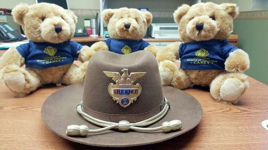 These bears will eventually make their way into deputy's patrol cars and be given to children that have just experienced a horrifying situation such as a car accident. (Submitted Photo)