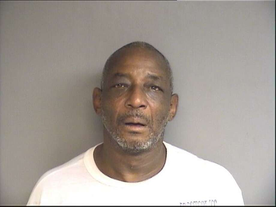 Eugene Lyles, 56, of Stamford, was found in possession of more than two dozen counterfeit bills and evidence of making counterfeit bills. Photo: Stamford Police / Contributed