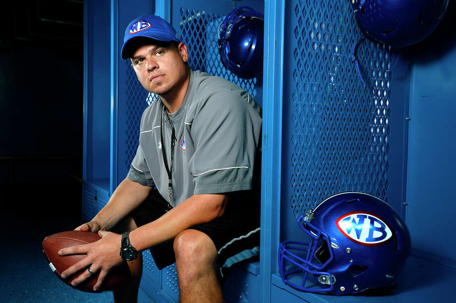 West Brook's Eric Peevey is preparing for his first season as a head football coach.  Photo taken Wednesday 8/9/17 Ryan Pelham/The Enterprise Photo: Ryan Pelham / ©2017 The Beaumont Enterprise/Ryan Pelham